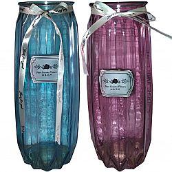 """Ваза цветное стекло Сrystal """"Terri"""" 29см в подарочной упаковке"""