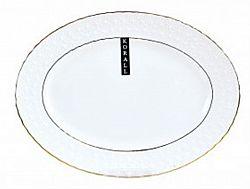 223136-А Блюдо овальное фарфор 35,5см в упаковке Снежная королева