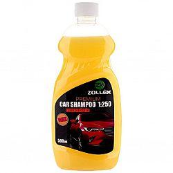 Автомобільний шампунь для ручної мийки (концентрат) з воском 0,5 л Zollex Premium