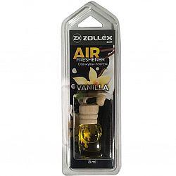 Освіжувач повітря автомобільний 8мл з ароматом «Ваніль» Zollex