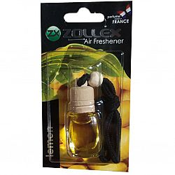 Освіжувач повітря автомобільний 8мл з ароматом «Лимона» Zollex 14LE Скляний флакон з деревяною кришк