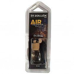 Освіжувач повітря автомобільний 8мл з ароматом «Dubai» Zollex