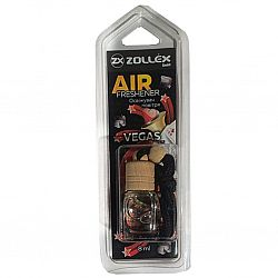 Освіжувач повітря автомобільний 8мл з ароматом «Vegas» Zollex