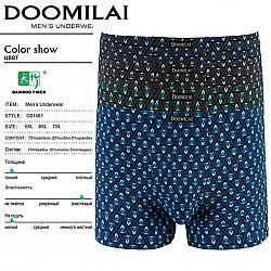 01461 Боксеры мужские Doomilai 12шт (6спаек по 2шт)