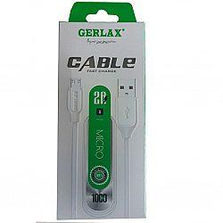 USB-шнур/зарядный кабель GERLAX пластик обмотка, в коробке