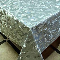 8399 В Клеенка ПВХ на тканной основе шелкография золото/серебро 1,40*20м