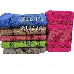 В-65032 Полотенце Руки Махра 0,90*0,45 (цена за 6шт) (6цветов)