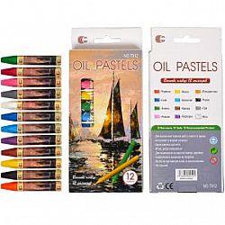 Восковые Карандаши  12цветов OIL PASTELS  С