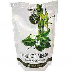Мыло 460мл Бамбук и зеленый чай  (дой-пак)