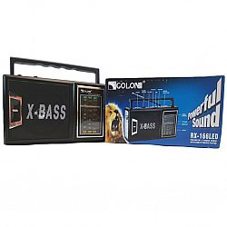 Радиоприёмник радио GOLON RX-166 LED