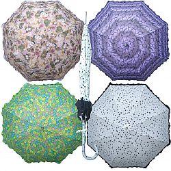 1005 Женский зонт Star Rain полуавтомат- 8 спиц  трость с рисунком Хит цена!!!