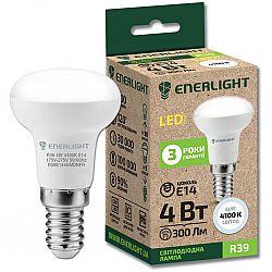 Лампа светодиодная ENERLIGHT R39 4Вт 4100К E14,гарантия 3 года