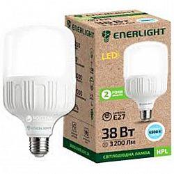 Лампа  светодиодная ENERLIGHT HPL 38Вт 6500К E27,2 года гарантии