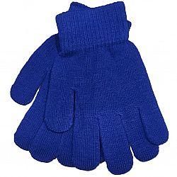 015 Перчатки женские синие (цена за 12шт)