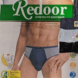 1419 Трусы мужские Redoor 3-х штучные (цена за спайку 12ед)