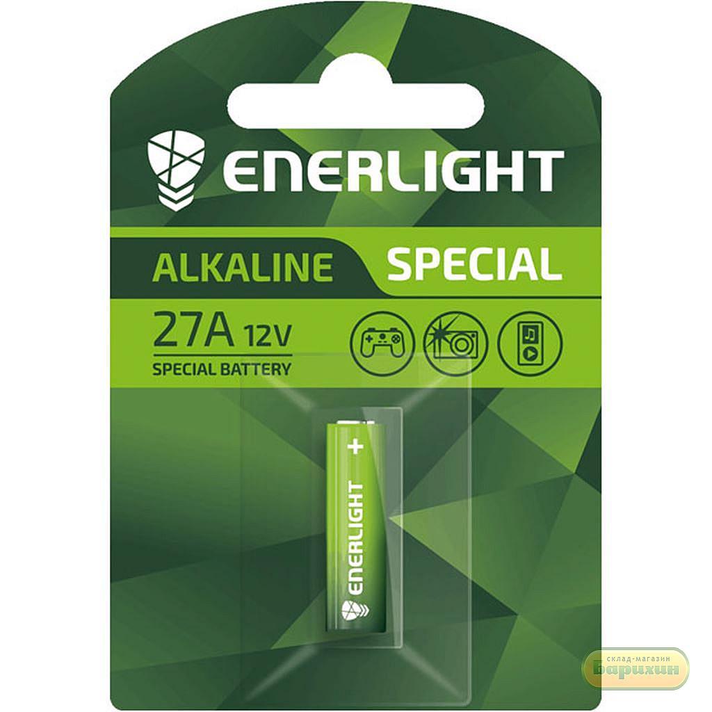 Батарейка ENERLIGHT Special Alkaline GA23 солевые 1шт блистер